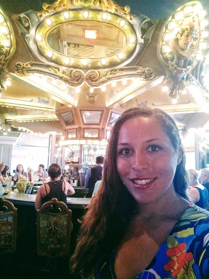 Sarah Fay at The Carousal Bar at Hotel Monteleone in New Orleans, La.