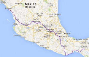 Mexiko_Map