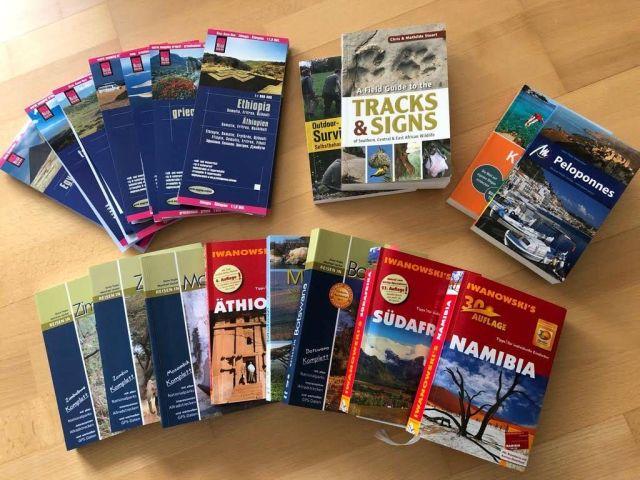 Reiseführer/Landkarten/Literatur