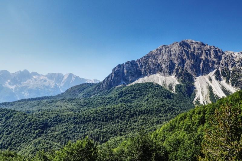 Albanien Valbona Maja e Rosit