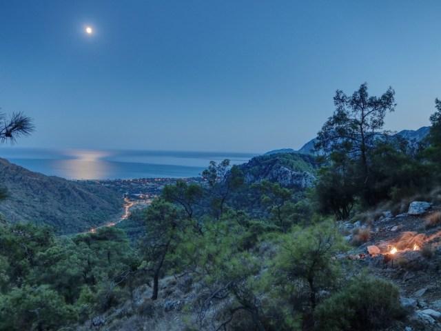 Türkei Lykische Küste Chimaera