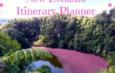 New Zealand Itinerary Planner