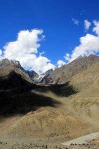 Trekking route Hampta Pass to Chandra Taal Lake camp