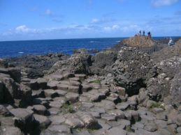 052 Giant's Causeway, hexagonal shaped rocks