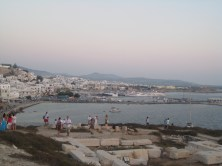 The town of Naxos