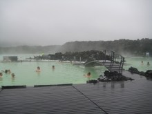 009 What! The blue lagoon is green!