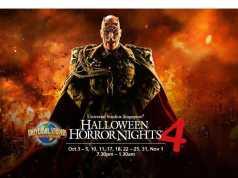 Hallowen Horror NIght 4 Promo ANZ Universal Studio Singapore