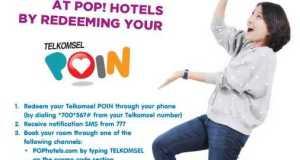 promo telkomsel poin pop hotel