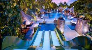 Hardrock Kuta Bali Pool Sliding