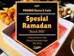 Promo Resto dan Cafe Spesial Ramadan