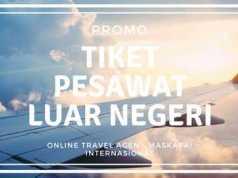 Promo Tiket Pesawat Luar Negeri Internasional