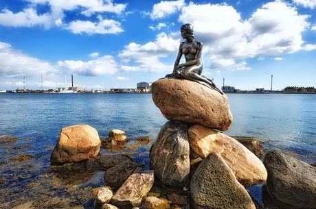 Image result for little mermaid statue copenhagen