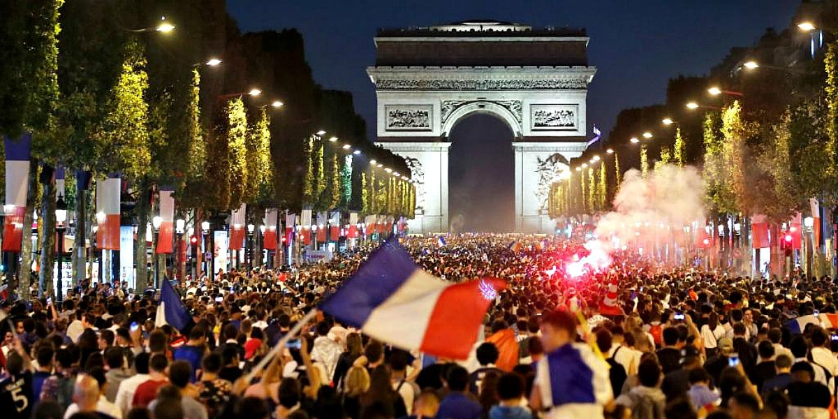 Celebrating Bastille Day