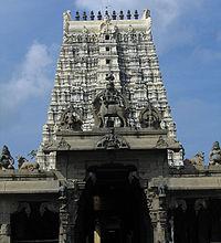 east gopuram of Rameshwaram temple