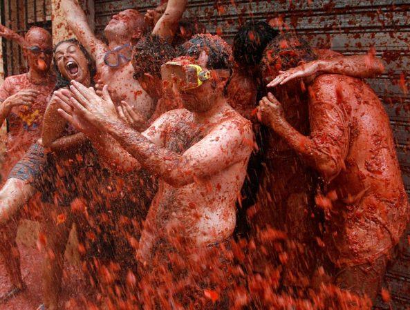 La Tomatina: festival più strani del mondo