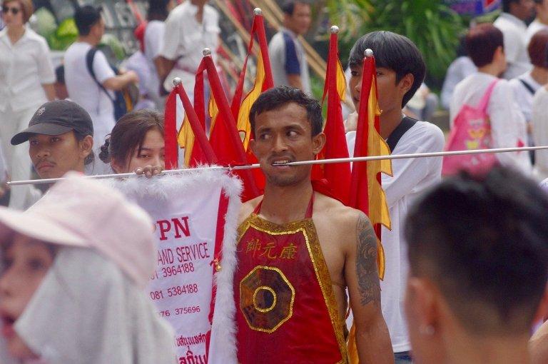 Festival vegetariano di Phuket tra i festival più strani e insoliti del mondo