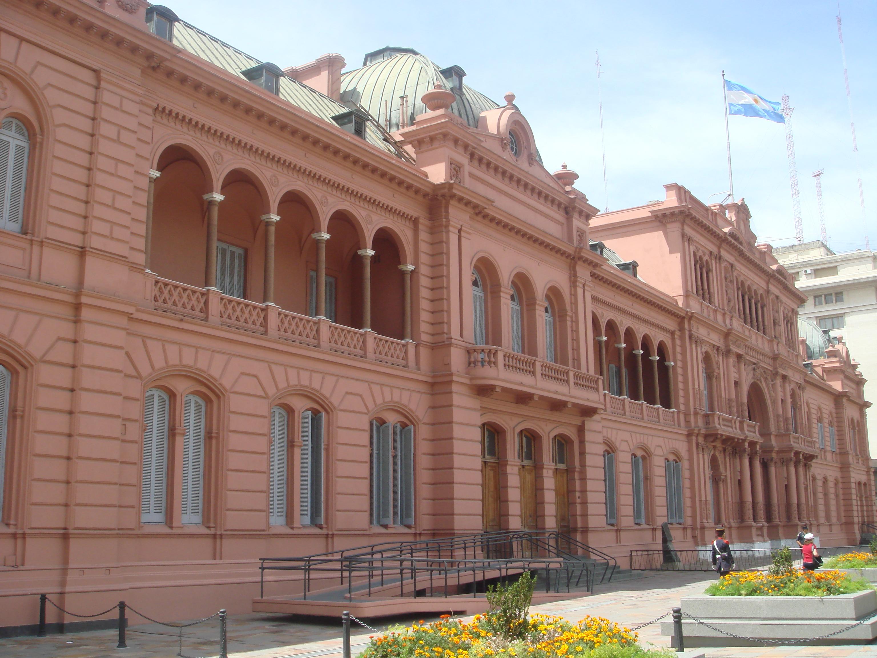 La Casa Rosada  Travelstripe