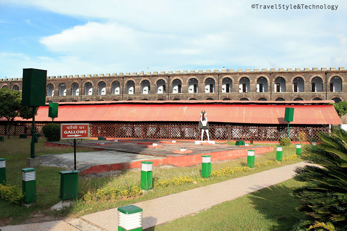 Andamans Trip: Visit to Cellular Jail - Gallows
