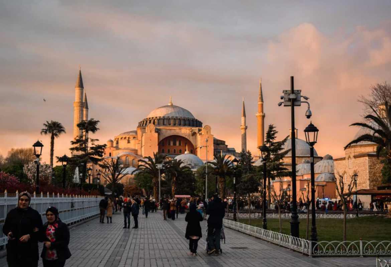 Exploring Istanbul Turkey - Hagia Sophia