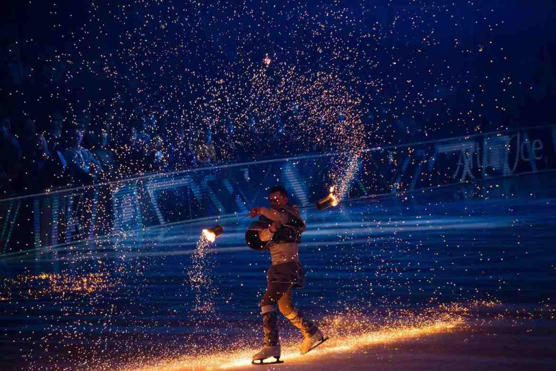 Magic on the Ice Rink at art on Ice 2020