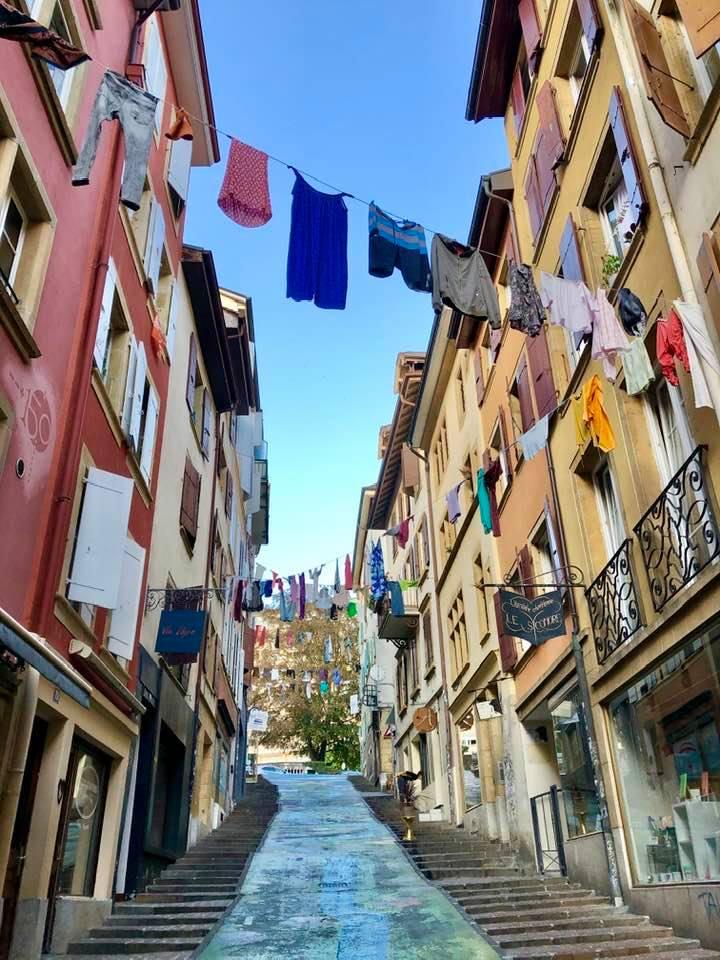 The Italian Quarter in Neuchâtel