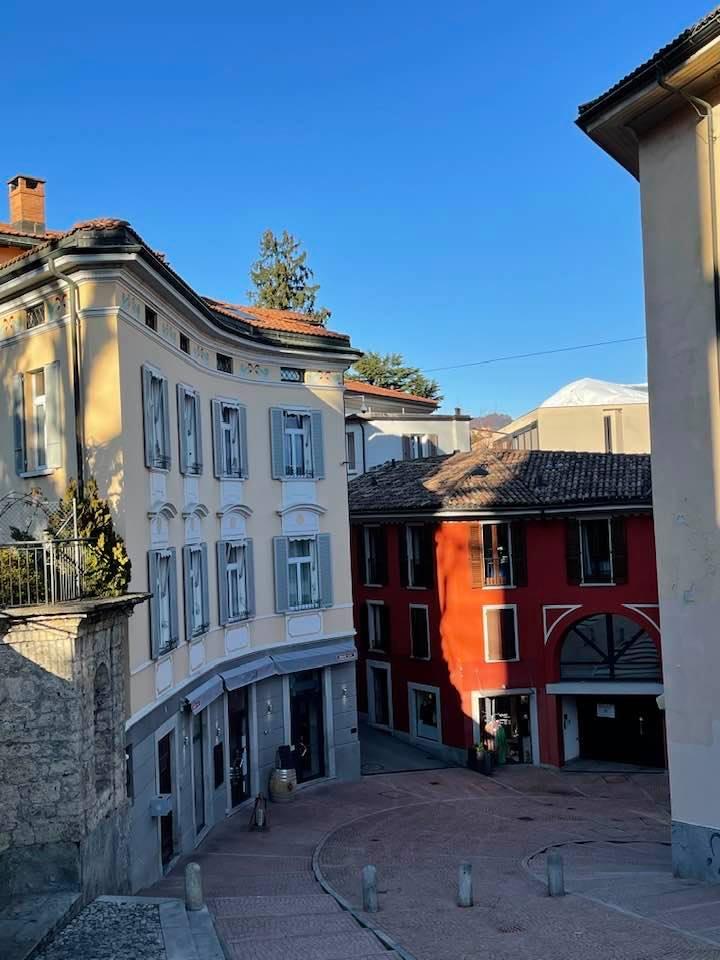 A Winter Postcard From Beautiful Lugano