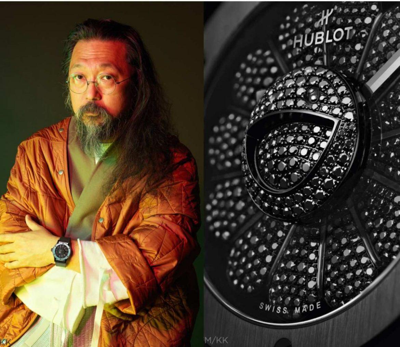 Hublot Creates Luxury All Black Watch with Takashi Murakami