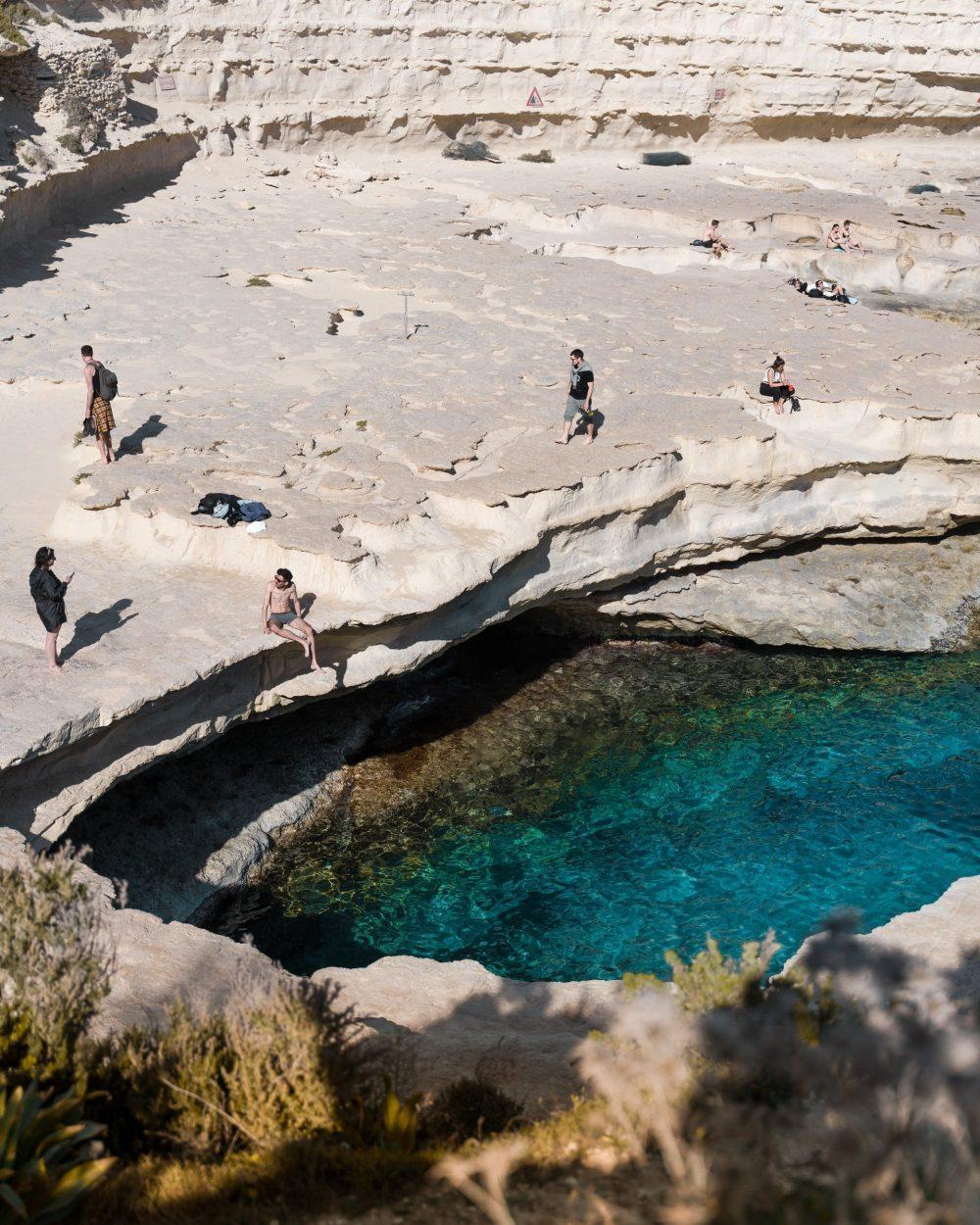 St Peter's Pool Marsaxlokk Malta