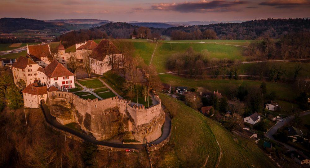 Lenzburg Castle Switzerland