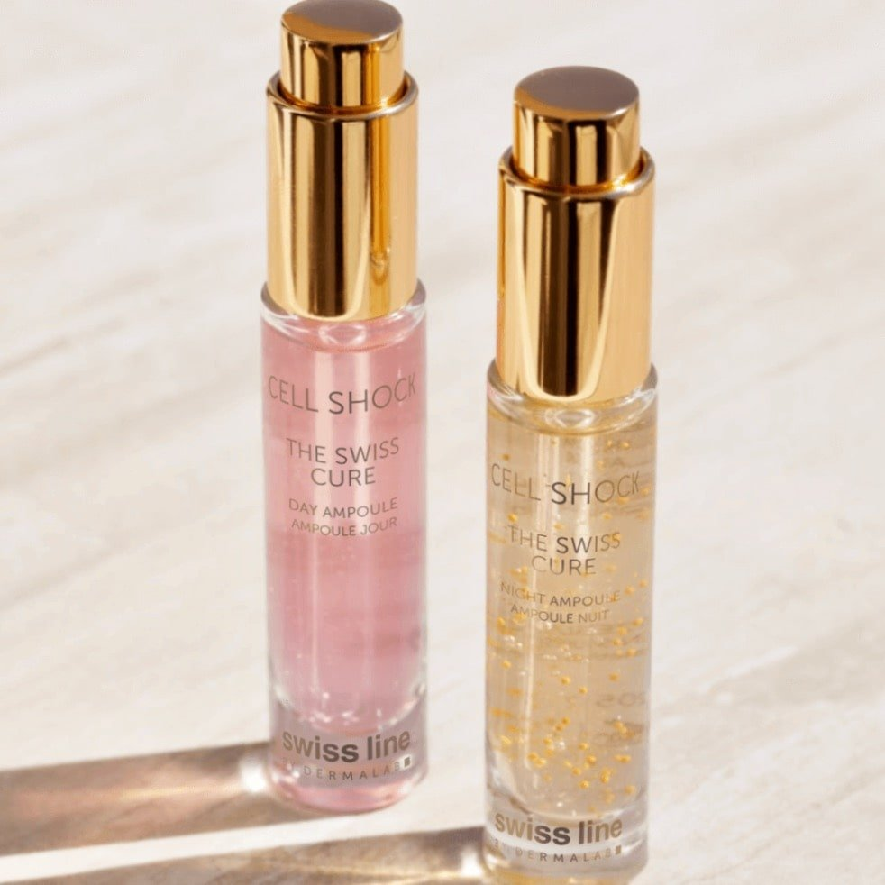Perfect Your Skin with Swissline Cure Day & Night Ampoules