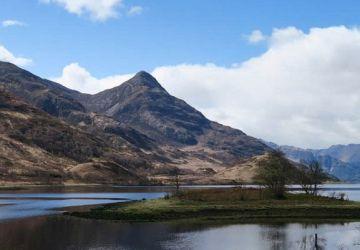 loch leven drive highland road trip