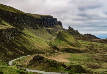quiraing view isle of skye