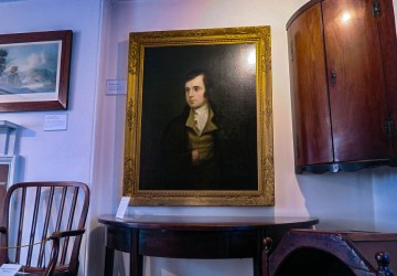 robert burns painting dumfries
