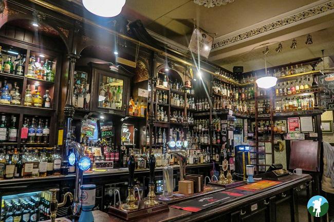 best whisky bars glasgow pot still