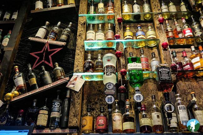 ben nevis whisky bar glasgow