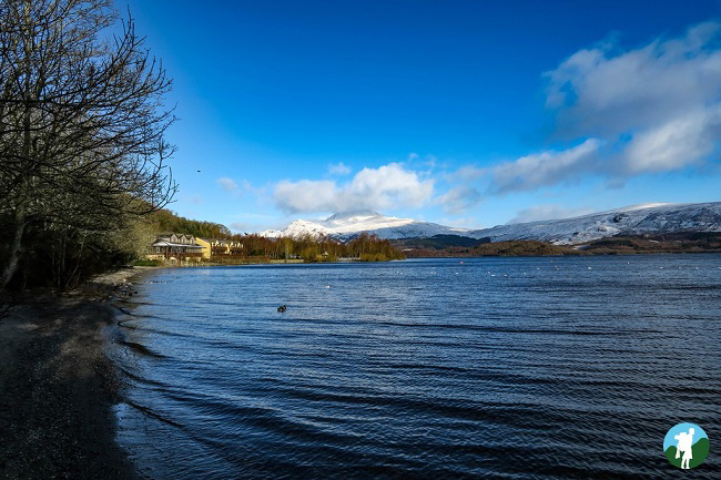 luss view over ben lomond