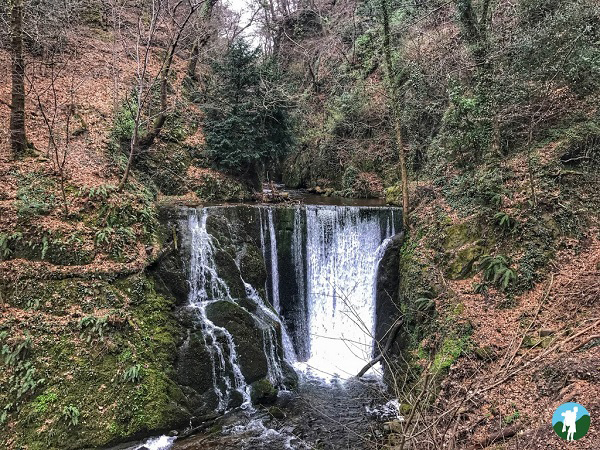 alva glen waterfall clackmannanshire
