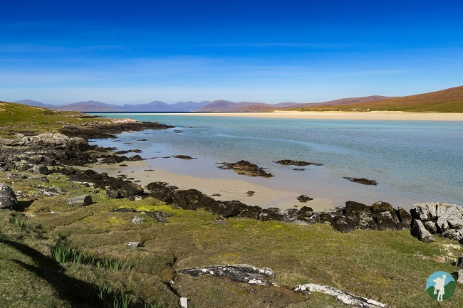 best walks outer hebrides harris beach