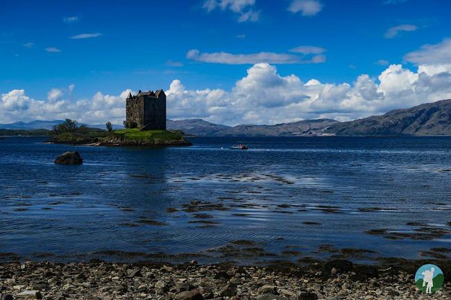 castle stalker photography oban points of interest