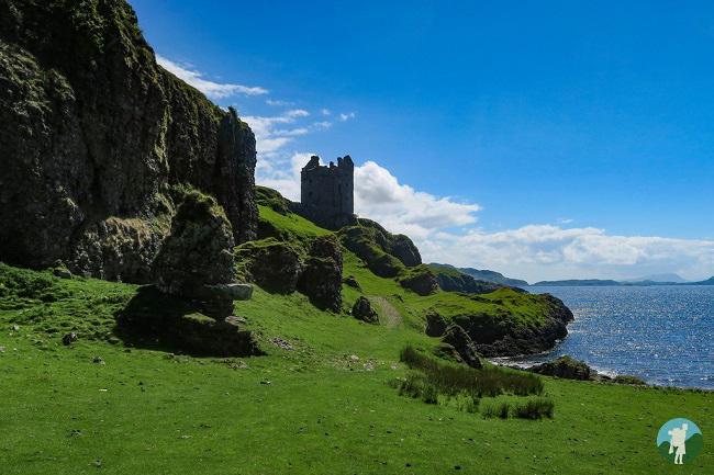 gylen castle kerrera oban points of interest