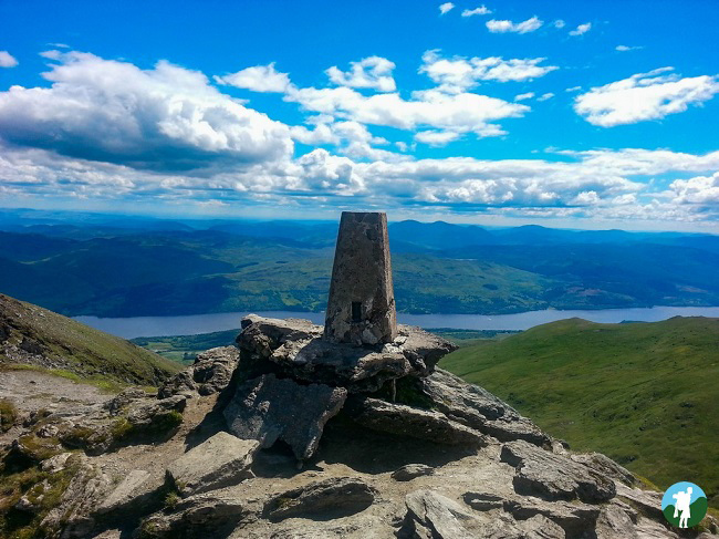 lawers trig summit hikes scotland