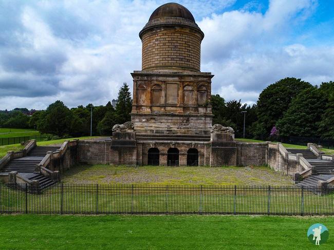 scotland in six hidden gems hamilton mausoleum