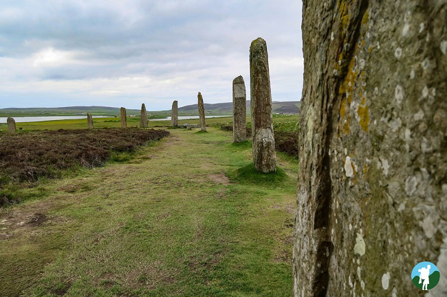 orkney standing stones which scottish island visit