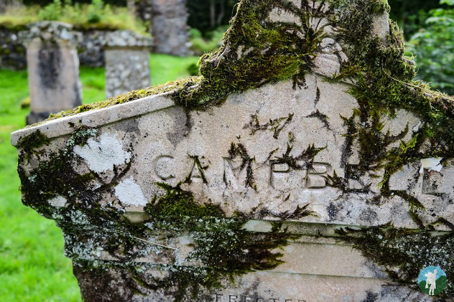 clan campbell grave argyll