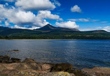 weekend activities arran brodick goatfell