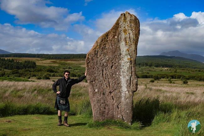 standing stones machrie moor arran blog