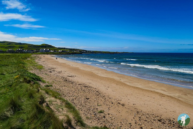 kintyre peninsula macrihanish beach