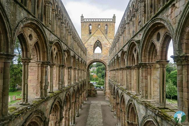best ruins scottish borders jedburgh