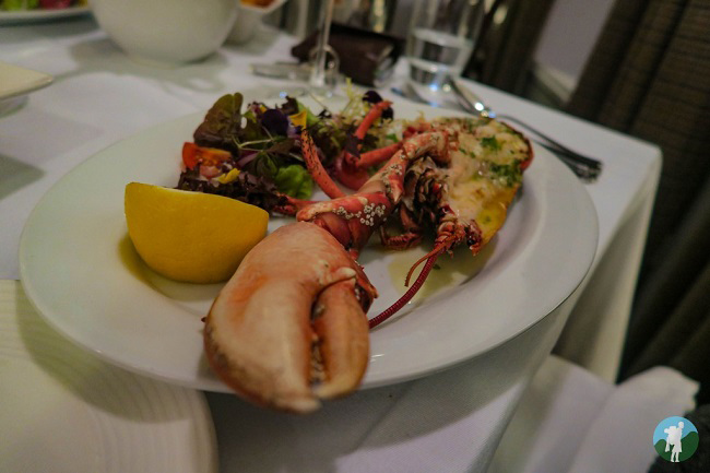 lobster scalloway hotel shetland travel blog