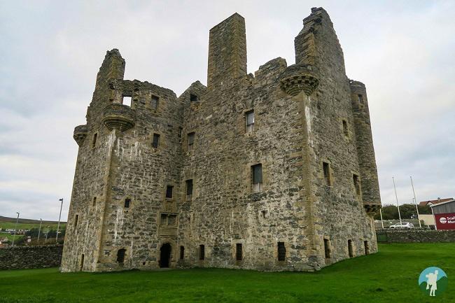 scalloway castle shetland travel blog